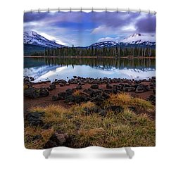 Shower Curtain featuring the photograph Sparks Lake by Cat Connor