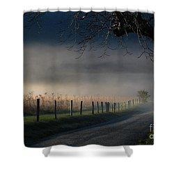 Sparks Lane Sunrise Lr3 Edition Shower Curtain