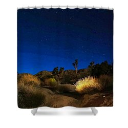Special Glow Shower Curtain