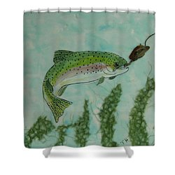 Speckled Shower Curtain