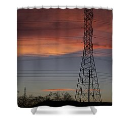 Spectacular Shower Curtain by Anne Rodkin