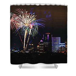 Spectacular Celebration Shower Curtain