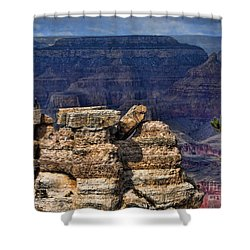Shower Curtain featuring the photograph Spectacular Grand Canyon by Roberta Byram