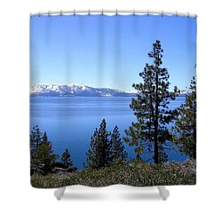 Spectacular Lake Tahoe Shower Curtain
