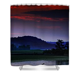 Spectral Crossing Shower Curtain