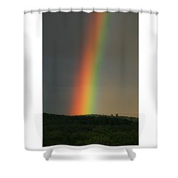 Shower Curtain featuring the digital art Spectrum by Julian Perry