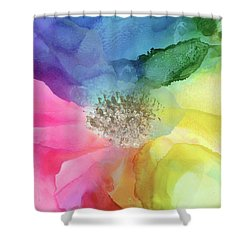 Spectrum Of Life Shower Curtain