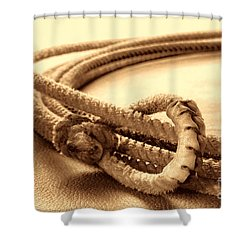 Speed Burner Shower Curtain by American West Legend By Olivier Le Queinec