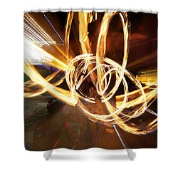 Speed Spin Shower Curtain