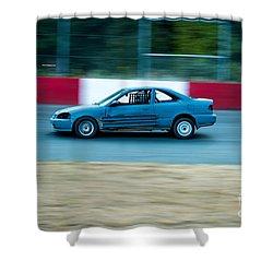Speeding Up Shower Curtain