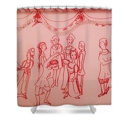Spellbinding Dance Of Joy Shower Curtain by Judith Desrosiers