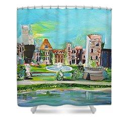 Spellbound Bv Ashford Castle Shower Curtain