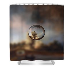 Sphere 13 Rembrandt Shower Curtain
