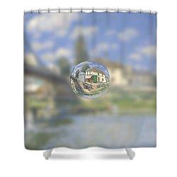 Sphere 18 Sisley Shower Curtain