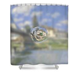 Sphere 18 Sisley Shower Curtain