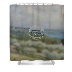 Sphere 24 Sisley Shower Curtain