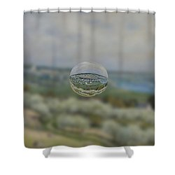 Sphere 24 Sisley Shower Curtain