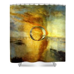 Sphere 26 Turner Shower Curtain