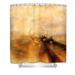 Sphere 8 Turner Shower Curtain