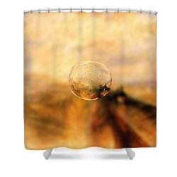 Sphere 8 Turner Shower Curtain