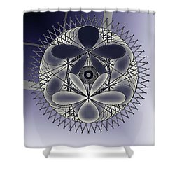 Sphere Shower Curtain