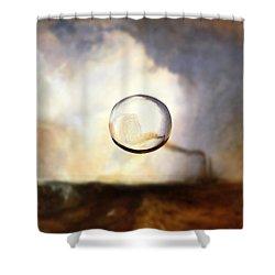 Sphere I Turner Shower Curtain