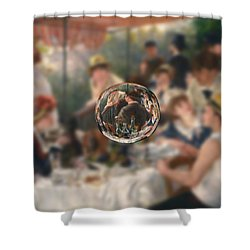 Sphere 4 Renoir Shower Curtain