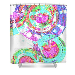 Sphere Series 965.030812vsscinvx3fddfx3 Shower Curtain