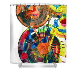 Sphere Series 967.030812 Shower Curtain