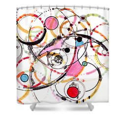 Spheres Of Influence Shower Curtain