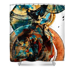 Spherical Joy Series 208.012011 Shower Curtain