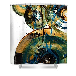 Spherical Joy Series 46.040511 Shower Curtain