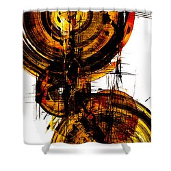 Spherical Joy Series 51.041011vsscvs Shower Curtain