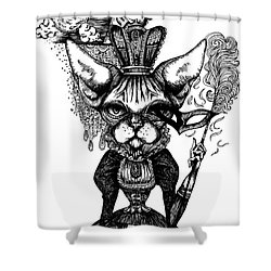 Sphynx Queen Shower Curtain