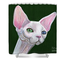 Sphynx2 Shower Curtain