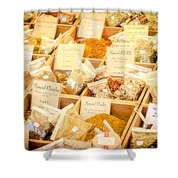 Shower Curtain featuring the photograph Spice Of Life by Jason Smith