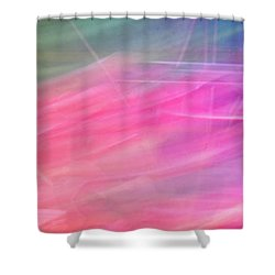 Shower Curtain featuring the photograph Spider Lily Top by Cheryl McClure