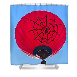 Spiderballoon Shower Curtain