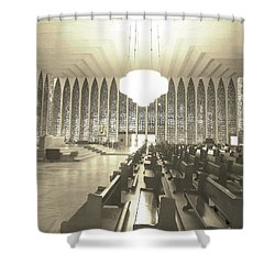 Shower Curtain featuring the photograph Spritual Connection by Beto Machado