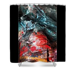 Spill 228 Shower Curtain