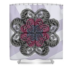 Spin It Shower Curtain
