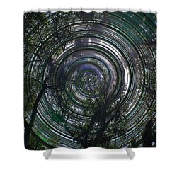 Spinning Shower Curtain by David and Lynn Keller