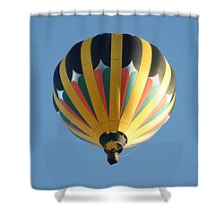 Spinning Top Shower Curtain