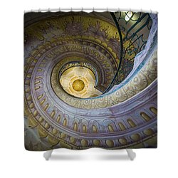 Spiral Staircase Melk Abbey I Shower Curtain