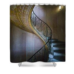 Spiral Staircase Melk Abbey II Shower Curtain