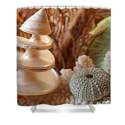 Spiral Shower Curtain by Trena Mara