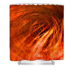 Spiraling Abyss  Shower Curtain