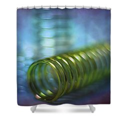Spirals Shower Curtain