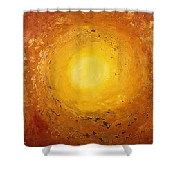 Spiralus Shower Curtain by Tara Thelen - Printscapes