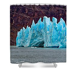 Spires Of Blue Shower Curtain